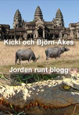 Kicki och Björn-Åkes Jorden runt blogg